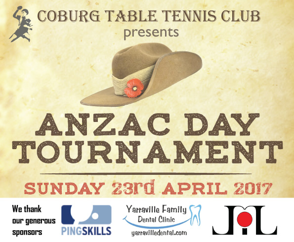 Commemoration of Anzac Day - Tournament - 23rd April